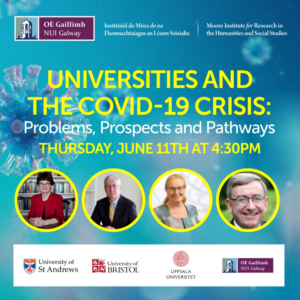 Online Seminar 'Universities and the COVID-19 Crisis' (Galway, 11 June 2020)