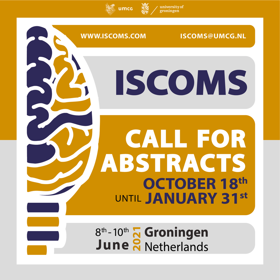 ISCOMS 'Call for Abstracts' (Groningen, 8-10 June 2021)